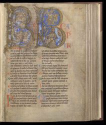 Psalm 1 with David, in The Winchester Psalter